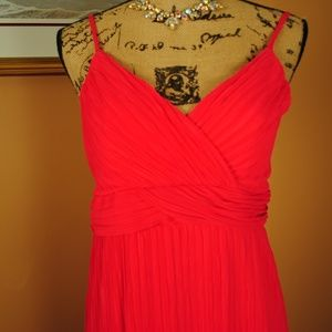 New Directions Pink Maxi Dress